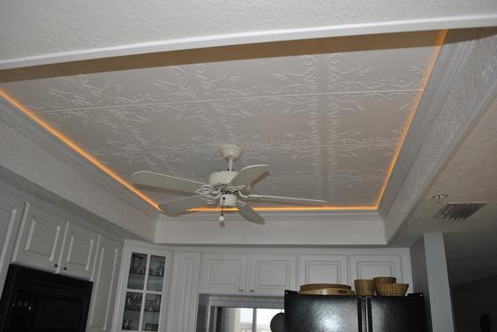Пенопластовые панели для потолка
