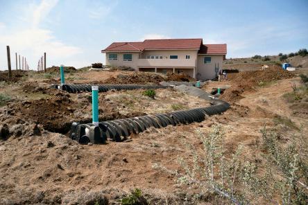 Уклон трубы канализации в частном доме