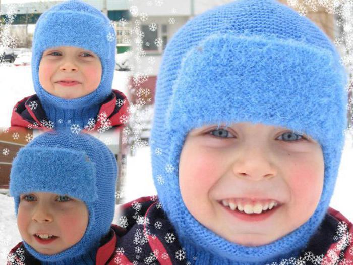 шапки спицами с описанием
