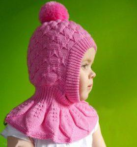 схема вязания шапки шлема спицами