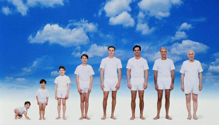 Рост человека, в зависимости от возраста