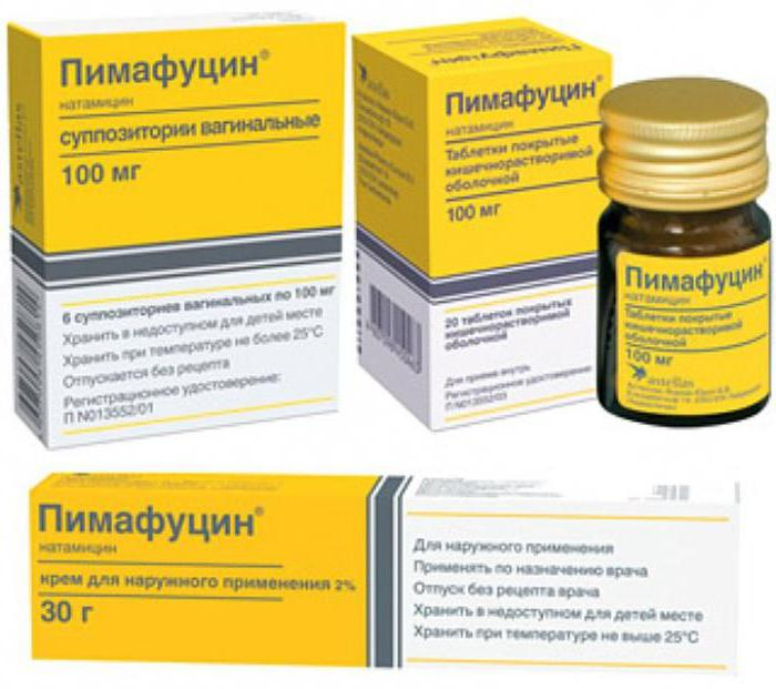 Пимафуцин эффективное средство для лечения молочницы