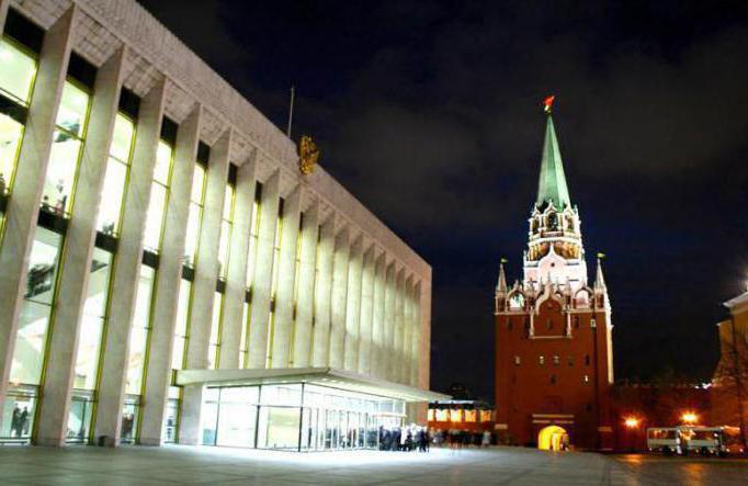 Государственный Кремлевский дворец, как пройти от метро