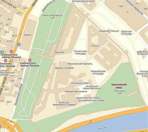Как попасть в Государственный Кремлевский дворец от метро