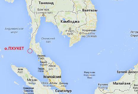 Таиланд остров пхукет какое море