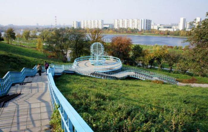 Братеевский каскадный парк москва