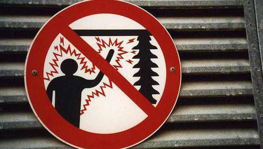 опасный ток для человека