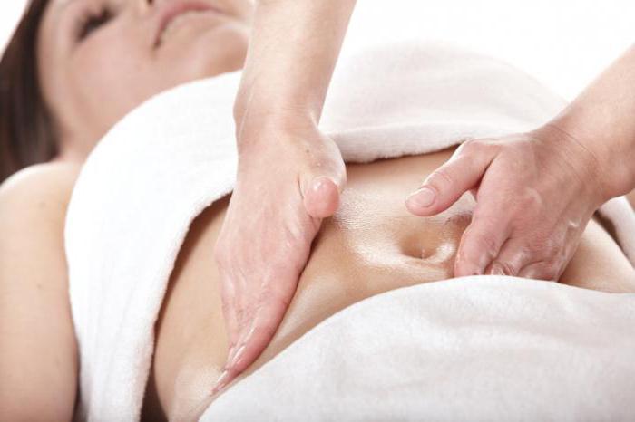 массаж для живота от жира