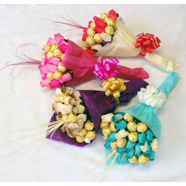 Букети з цукерок своими руками фото 21