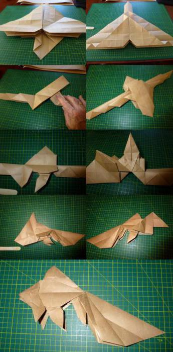 Как сделать рыбу из бумаги без клея
