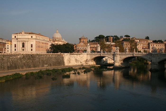 река тибр в италии