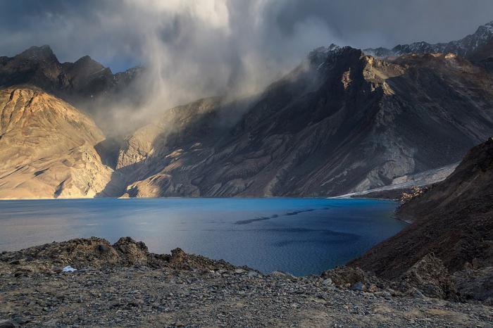 озеро на памире