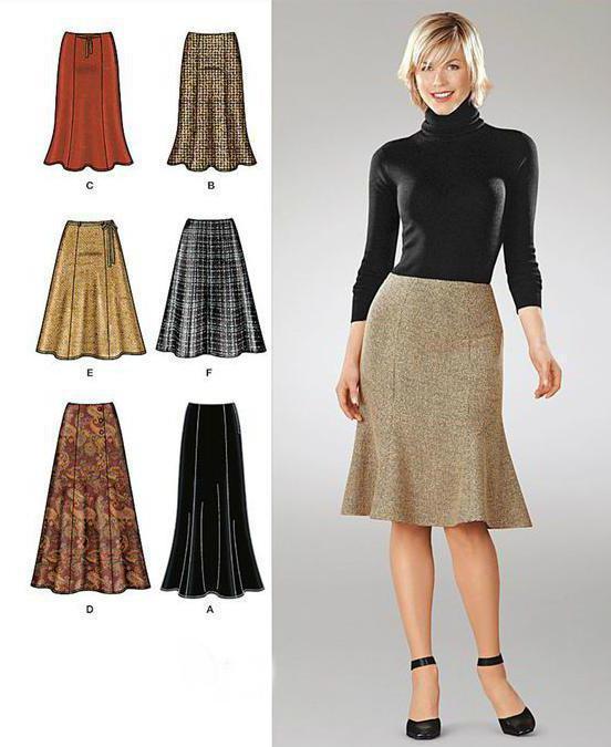 Шестиклинка - юбка с особенностями. Как пошить и с чем носить?