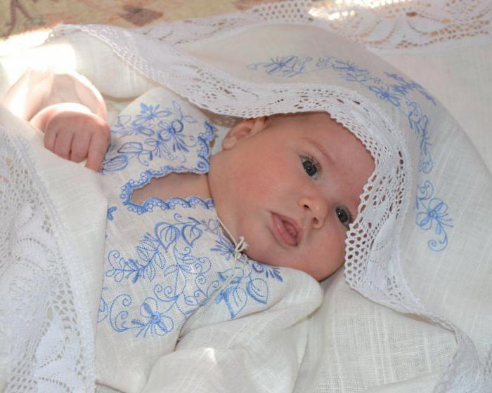 крестильные полотенца с вышивкой