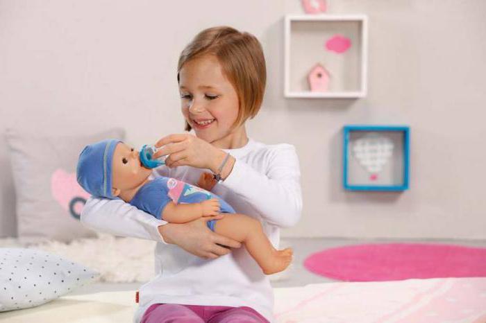 игрушки куклы baby born