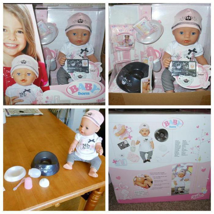 кукла baby born zapf creation