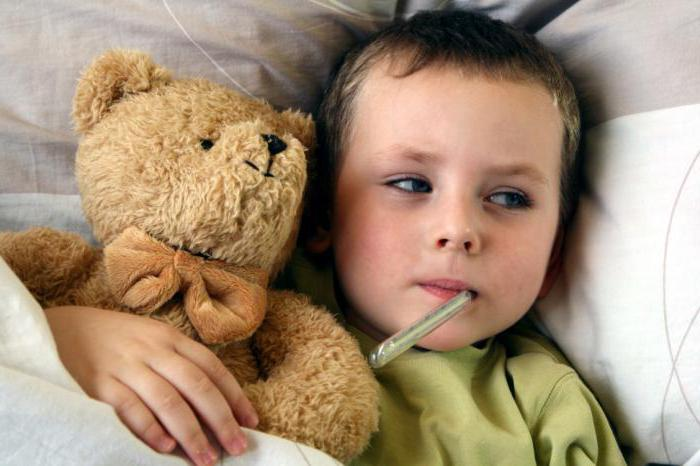 Холодный пот у ребенка причины
