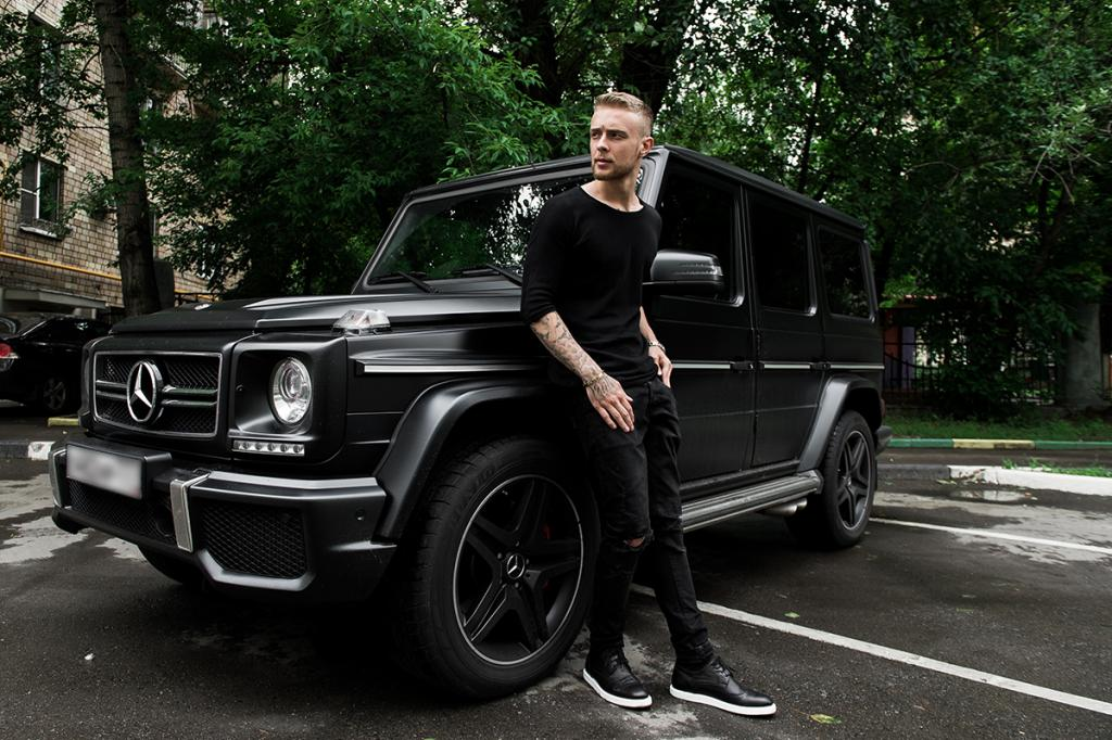 Какая машина у Егора Крида: фото, интересные факты