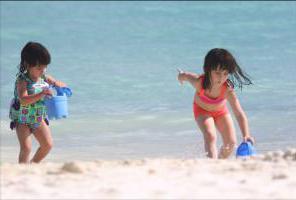 поездка с ребенком на море