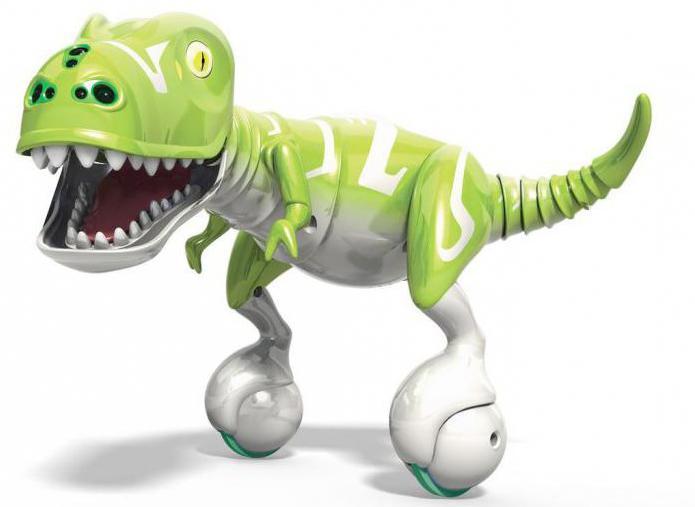 игрушка динозавр на пульте управления