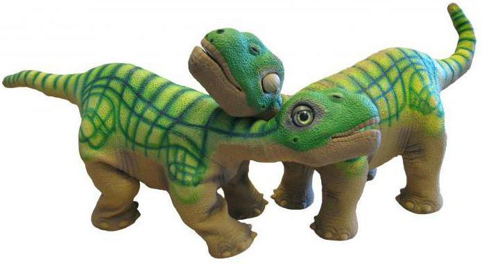 робот динозавр на пульте управления