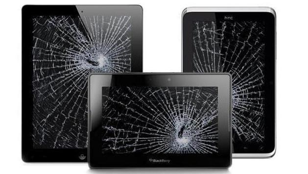 треснуло стекло на планшете сколько стоит замена