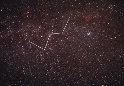 созвездие кассиопея на небе