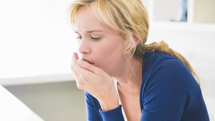 мокрота запах изо рта