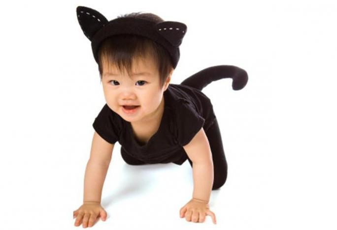 костюм кота своими руками для мальчика фото