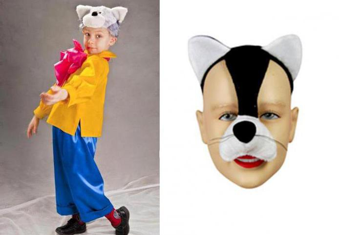 сшить костюм кота для мальчика своими руками