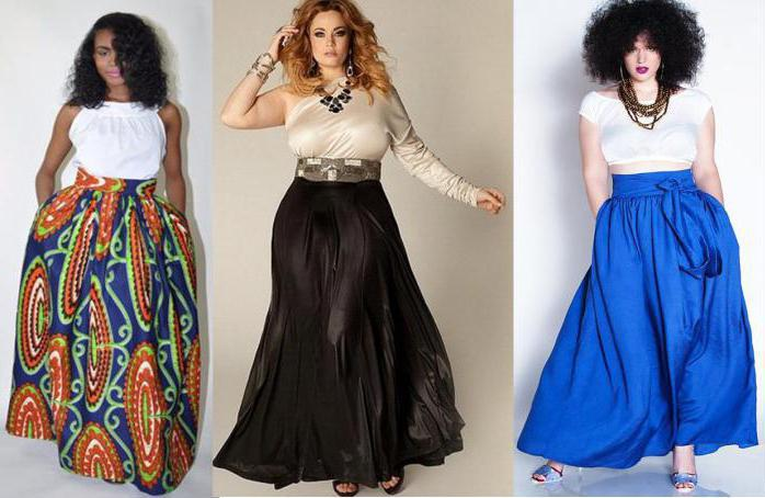 юбки для женщин с животом