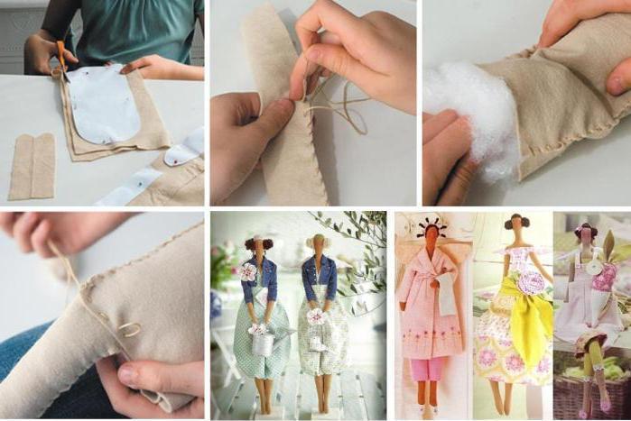 текстильная кукла мастер класс выкройки