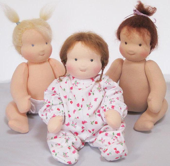вальдорфская текстильная кукла