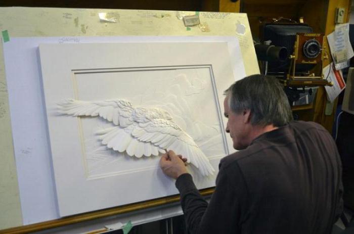 Скульптура из бумаги ноу хау в искусстве