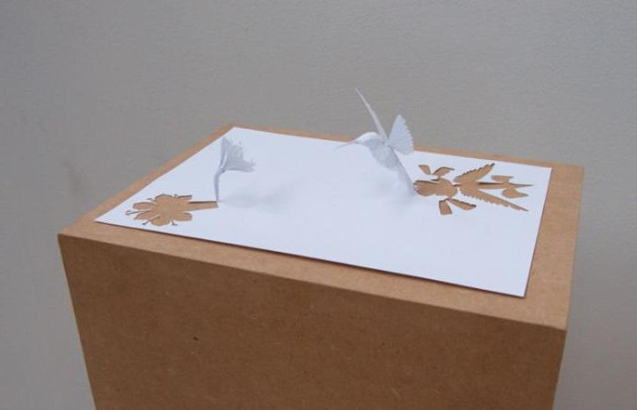 скульптуры из бумаги своими руками