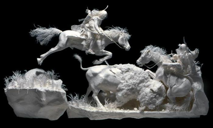 как сделать скульптуру из бумаги