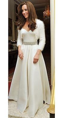 Свадебные платья Кейт Миддлтон - какие они?