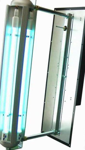 Ультрафиолетовая лампа убивает микробы