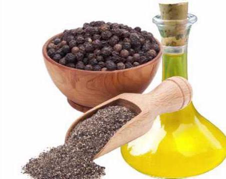 эфирное масло черного перца применение