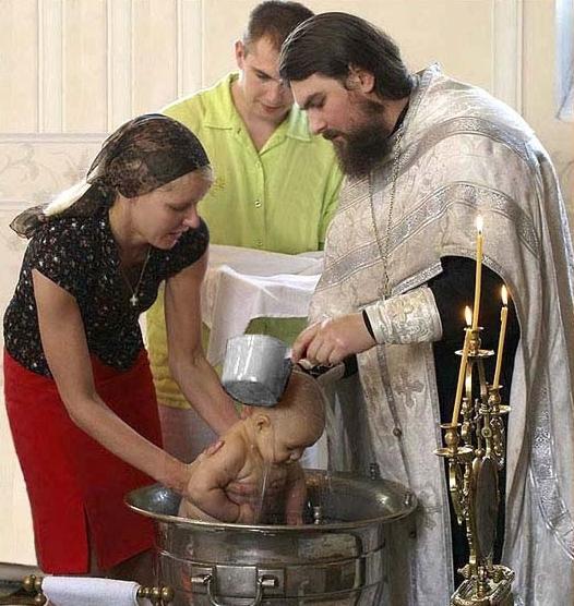 Православный обряд: крещение ребенка