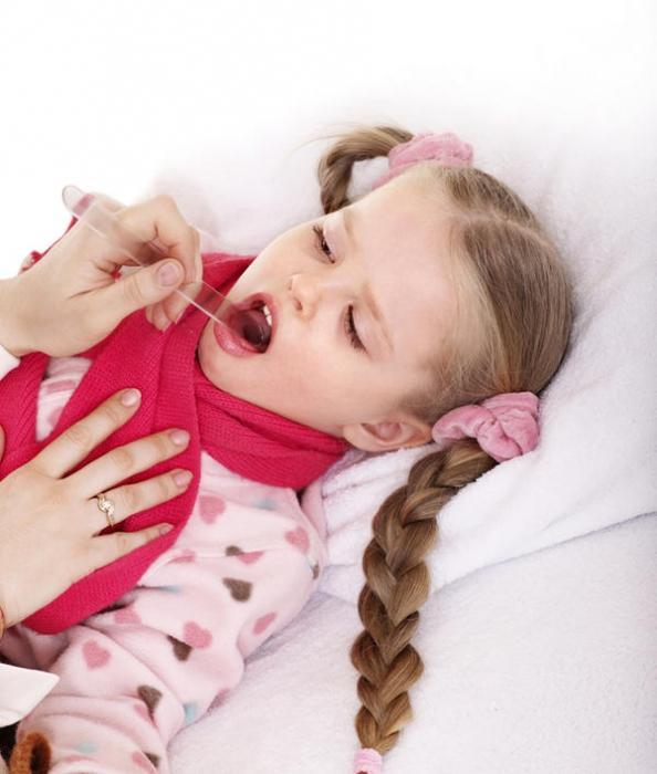 Вирус болит горло и кашель у ребенка