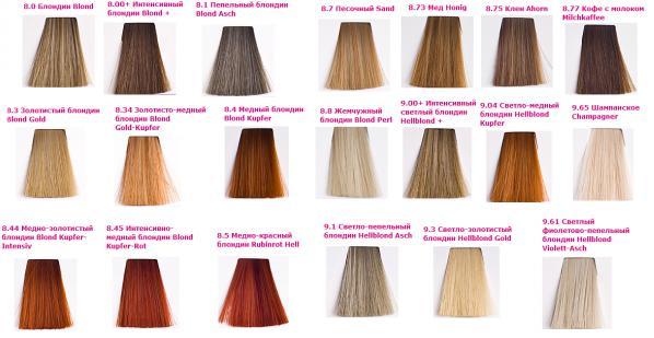 Краска для волос KEEN: палитра цветов, отзывы, фото