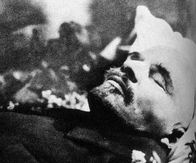 как умер ленин