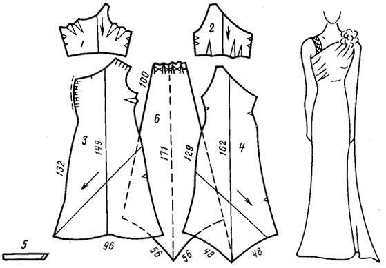 вечерние платья своими руками выкройки