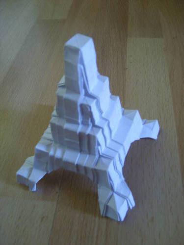 Как сделать из бумаги башню мага
