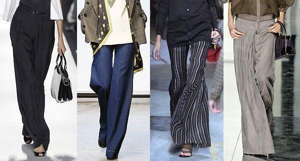 Как выглядеть элегантно в широких брюках: 9 модных примеров от Виктории Бэкхем рекомендации