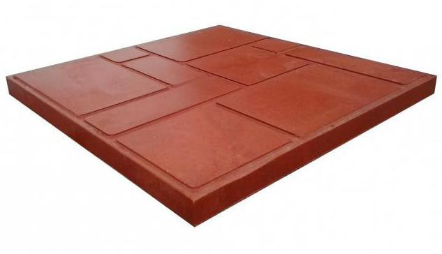 полимерно песчаная плитка производство