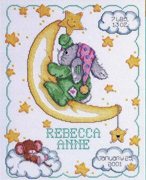 Метрика для новорожденных: схемы ...: lyuboznat.ru/metrika-dlja-novorozhdennyh-shemy-vyshivki-kak.html