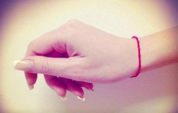 как завязать красную нить из иерусалима