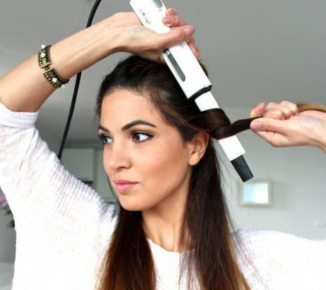 как правильно накручивать пряди волос